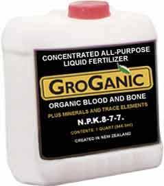 GroGanic Blood And Bone Organic Liquid Fertilizer